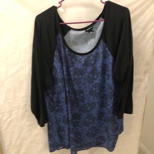 3 quarter sleeve blouse